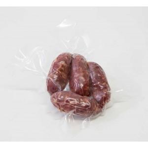SALSICCIA CON CINGHIALE (confezione sv composta da n.4 salsicce per un peso di 100gr circa)